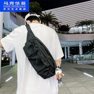 马克华菲胸腰包潮牌韩版女ins男大学生休闲运动单肩包时尚街头