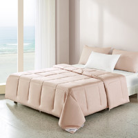 Anmino 安敏诺 防螨纤维夏凉被 藕粉色 160*210cm