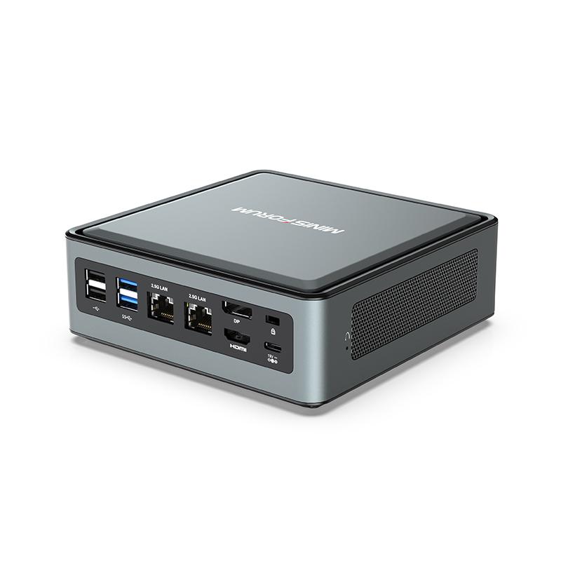 雅特思 MINISFORUM TL50 迷你主机(i5-1135G7、12GB)
