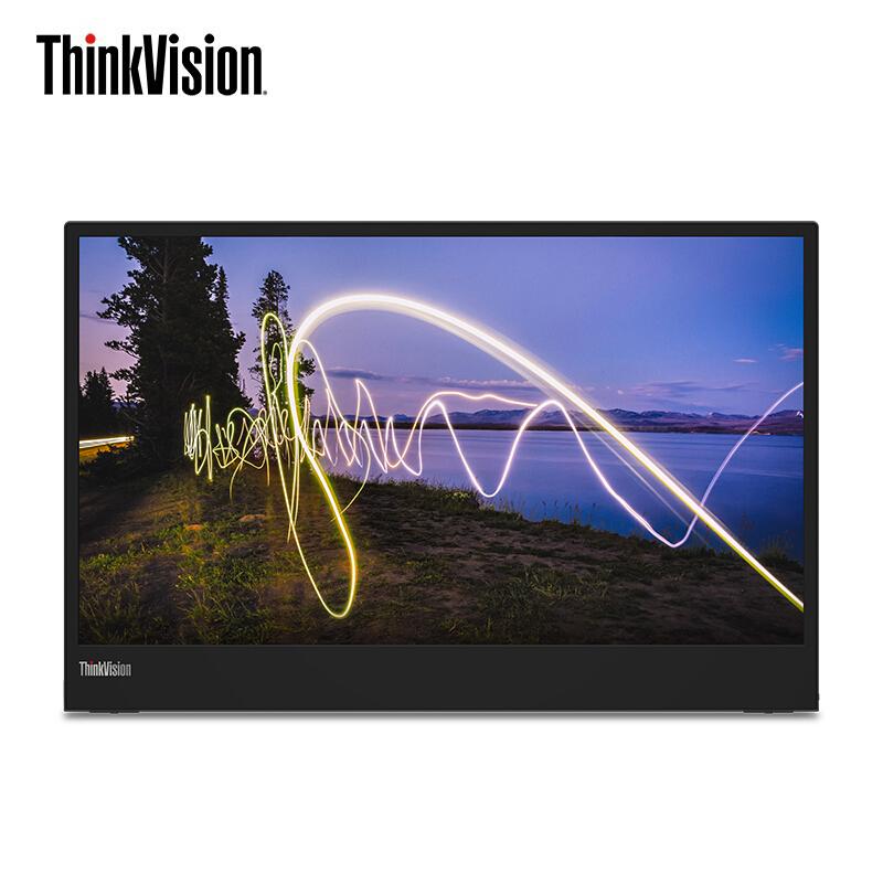 Lenovo 联想 M15 15.6英寸一体式便携显示器