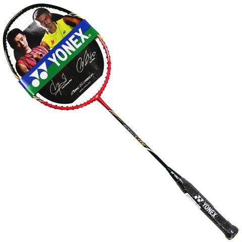 YONEX 尤尼克斯 羽毛球拍ARC弓箭全碳素攻守兼备单拍(红色)已穿线送手胶