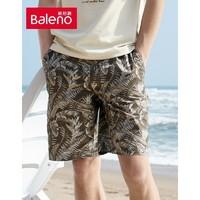 Baleno 班尼路 88010025 男士宽松棉质五分裤
