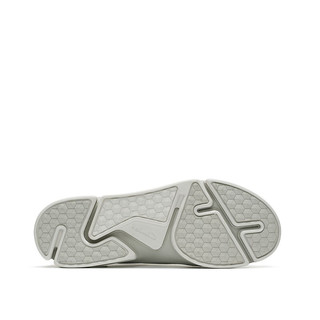clarks 其乐 TriVerve Slip系列 男士休闲皮鞋 261395697 白色 39.5