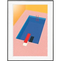 PICA Photo 拾相记 Rosi Feist 作品《后院泳池》33 x 28 cm 无酸白卡 限量50版
