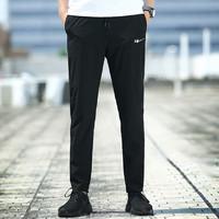 Double Star 双星 FFW2191230BA03  男士运动长裤