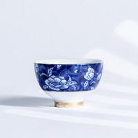 熹谷 白瓷 芙蓉圆口杯 40ml