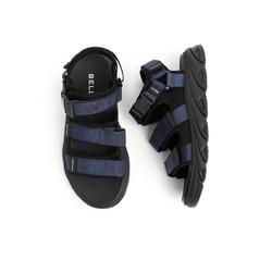 BeLLE 百丽 B376WV01DM1BL0  男士凉鞋