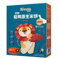 禾泱泱 稻鸭原生米饼 藜麦味 32g