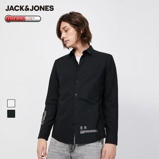 JACK&JONES 杰克琼斯 219405509 男士潮流印花长袖衬衫