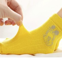 88VIP:BoBDoG 巴布豆 儿童网眼袜子 5双装