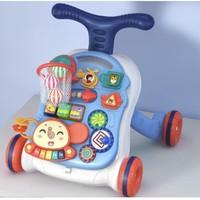 知识花园 宝宝学步手推车 电池版早教大象款