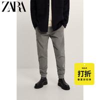 ZARA  05575491826 男士灯芯绒卫裤
