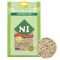PLUS会员:AATURELIVE N1爱宠爱猫 绿茶豆腐猫砂 17.5L*3袋