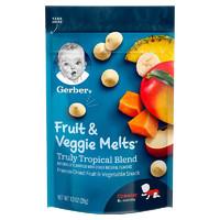 Gerber 嘉宝 婴幼儿酸奶溶豆 28g 混合热带水果味