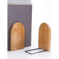 桌面书架书柜桌上儿童收纳置物架小型架子简易小书架榉木木质书立