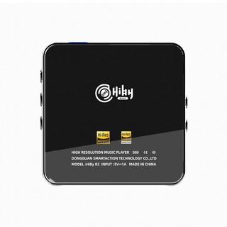 Hiby MUSIC 海贝音乐 R2 音频播放器 黑色(3.5单端、4.4平衡)+HiBy Beans 3.5mm耳机 R2组合套装