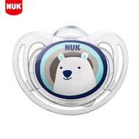 移动端:NUK 婴儿舒适型硅胶卡通防胀气安抚奶嘴