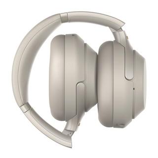 SONY 索尼 WH-1000XM3 耳罩式头戴式无线蓝牙降噪耳机 铂金银