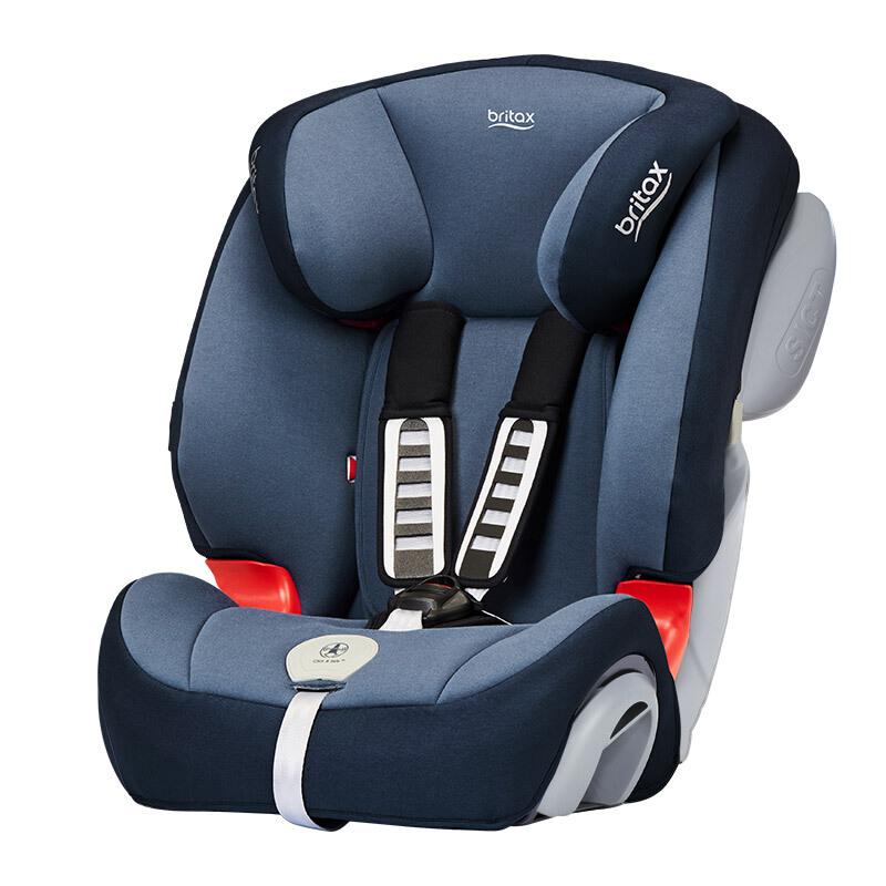 Britax 宝得适 汽车儿童安全座椅 全能百变王 月光蓝
