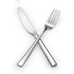 LUCUKU 路卡酷 304不锈钢牛排刀叉两件套 美斯西餐餐具套装