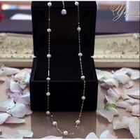 PearlYuumi 優美珍珠 海水珍珠满天星项链 K18黄金 45cm