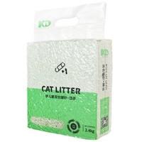 PLUS会员:倍儿蜜 豆腐猫砂 绿茶 2.4kg*2袋