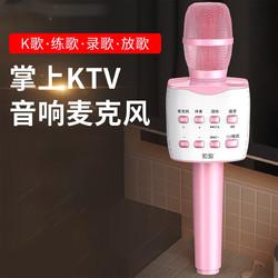 SOAIY 索爱 MC7全民唱歌手机麦克风话筒音响一体无线蓝牙麦克风