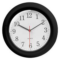 LAMIKO 静音挂钟 黑色普通款 8英寸