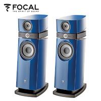 FOCAL 劲浪 SCALA UTOPIA EVO III 音响 家庭影院 HIFI 2.0 落地式音箱 木质法国 (蓝色)
