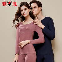 YALU 雅鹿 YL1002-6 无痕保暖秋衣秋裤