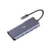 aigo 爱国者 H6 6合1接口转换器 USB-C转HDMI 深空灰