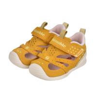 ginoble 基诺浦 TXGB1878 儿童凉鞋 黄色/淡黄 120码(内长13cm)