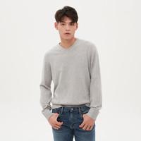 Gap 盖璞 593505 男装简约时尚纯棉V领针织衫