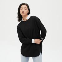 Gap 盖璞 665571 女装宽松式长袖T恤