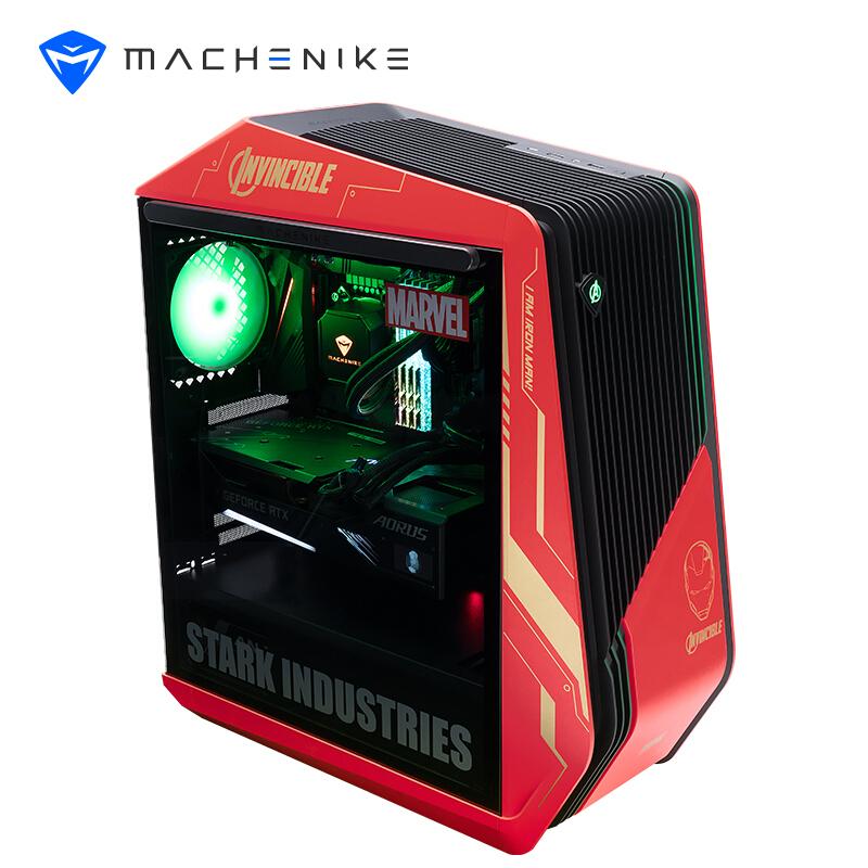10日0点 : MACHENIKE 机械师 未来战舰III代漫威版 水冷游戏台式电竞电脑主机(i9-11900K、32GB、1TB SSD+2T、RTX3080Ti)