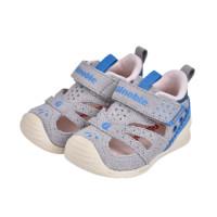 ginoble 基诺浦 TXGB1878 儿童凉鞋 浅灰/天蓝 110码(内长12cm)