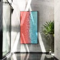 仟象映画 融雪x沈鹏 艺术画 竖版玄关装饰画 40×80cm 客厅餐厅挂画走廊壁画