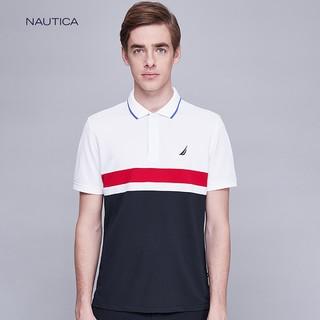 NAUTICA 诺帝卡 K919061BW 男士POLO衫