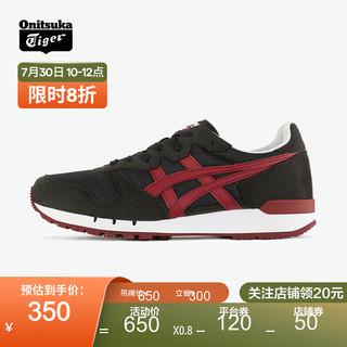 Onitsuka Tiger 鬼塚虎 男女款复古运动休闲鞋 ALVARADO 1183A507 黑色 40.5