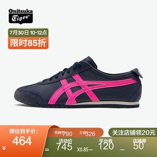 Onitsuka Tiger 鬼塚虎 运动休闲鞋 中性 MEXICO 66 1183A201-300 藏青色 41.5