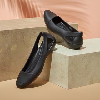 crocs 卡骆驰 凉鞋女 夏季爆款经典仙安娜舒适休闲女平底鞋单鞋