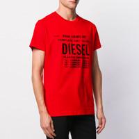 DIESEL 迪赛 00SXE60091A44I  男士T恤