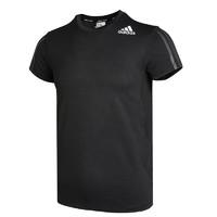 adidas 阿迪达斯 H.RDY 3S TEE 男子运动T恤 GP7653 黑色 L