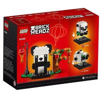 LEGO 乐高 方头仔系列 40466 新春吉祥熊猫