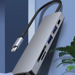 UFBOSS 友博士 Type-C扩展坞(HDMI4K+PD60W+USB3.0+SD/TF)