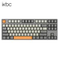 iKBC C200 87键 机械键盘 红轴 深空灰