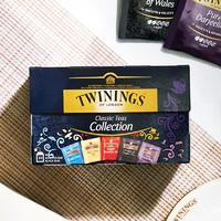 有券的上:TWININGS 川宁 红茶精选装茶包 20包*2g