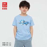 UNIQLO 优衣库 儿童圆领T恤