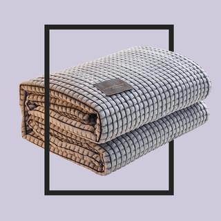 移动端 : 梦嘉欢 新款牛奶魔法绒毛毯200cmX220cm