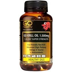 GO Healthy 高之源 高效磷虾油胶囊 1500mg 60粒